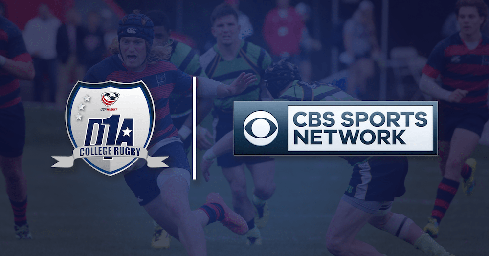 Usa Rugby Renews Deal With Cbs Sports Network To Increase Coverage Of Men S D1a National Championship Usa Rugby