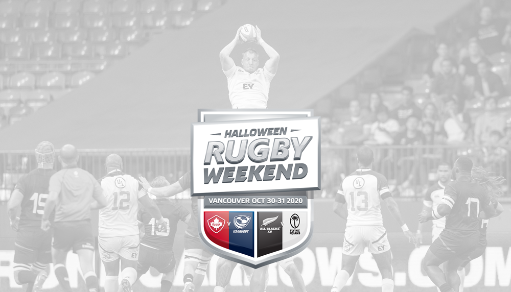 Vancouver Bc, Halloween 2020 USA Men's National Team XVs to join Canada, All Blacks XV and Fiji